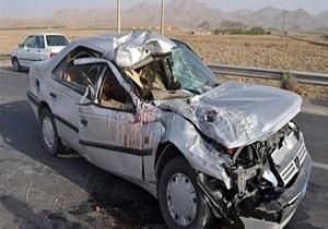 واژگونی خودرو پژو در محور میبد قربانی گرفت