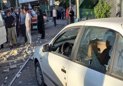 انفجار درخانه بهداشت شهر معلم کلایه