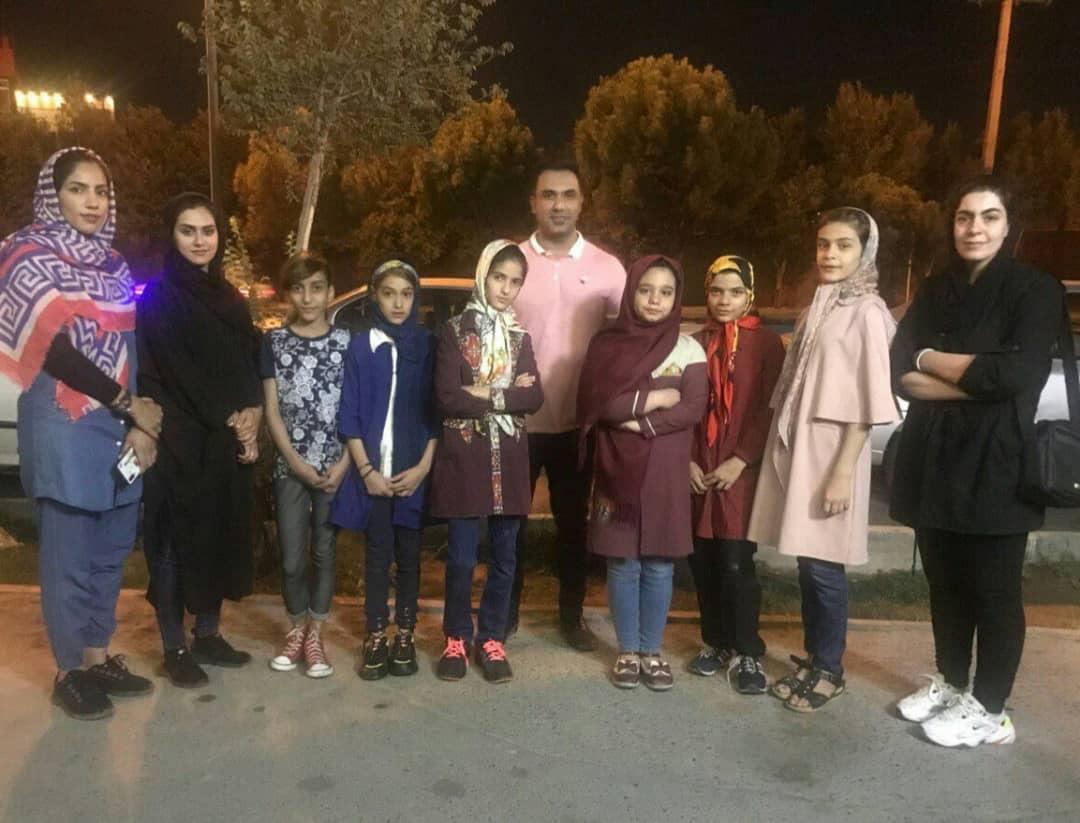 حضور دختران تکواندوکار خردسال یزدی در مسابقات کشوری