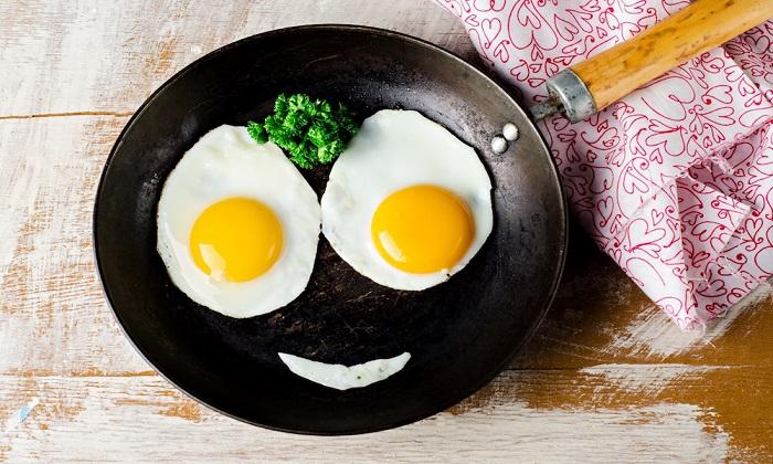 ۷ دلیل برای افزودن تخم مرغ به صبحانه////ثباتی