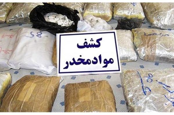 ۵۵ کیلوگرم مواد مخدر در گناباد کشف شد