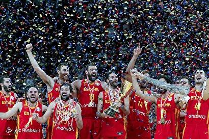 اسپانیا قهرمان جام جهانی بسکتبال