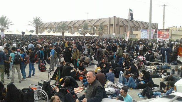 افزایش تردد زائرین از مرز مهران