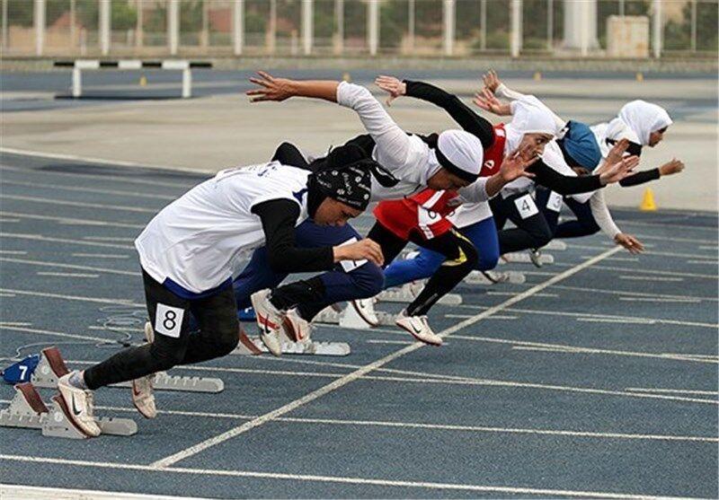 مسابقات قهرمانی دوومیدانی بانوان درشهرستان ملکشاهی برگزار شد