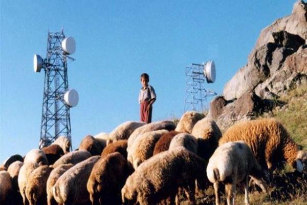 پوشش ارتباطات ماهوارهای برای ۱۰۰۰ روستا فراهم شد