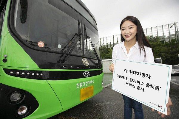 برنامه ریزی برای استفاده گسترده از اتوبوسهای برقی در کره جنوبی//////گلی