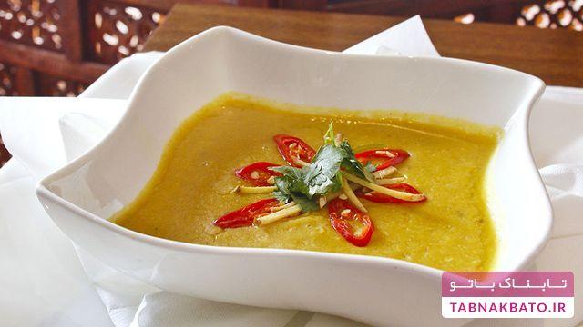 طرز تهیه سوپ دال عدس به سبک هندی