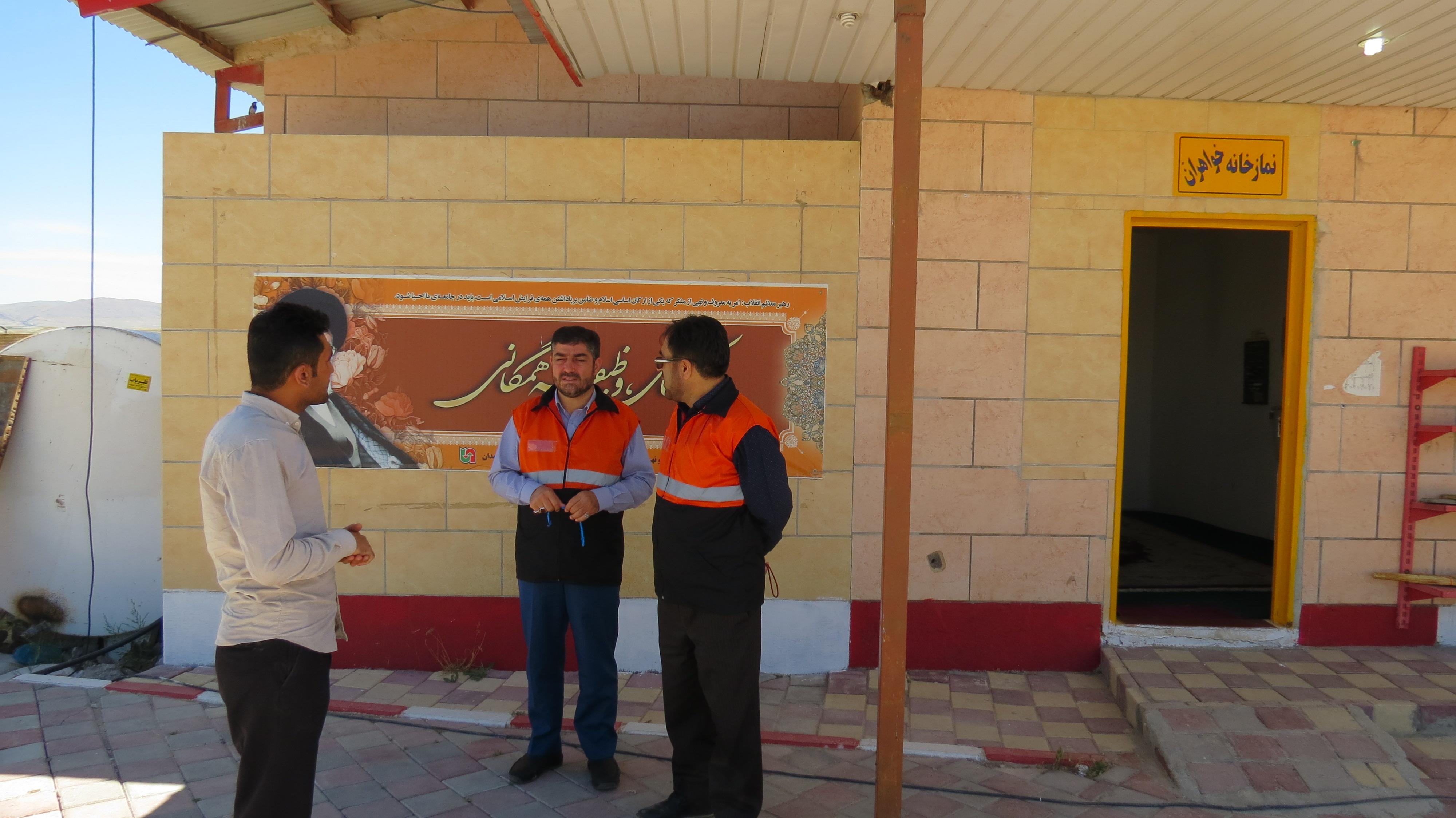 نمازخانه مجتمعهای خدماتی رفاهی استان میزبان زائران اربعین حسینی
