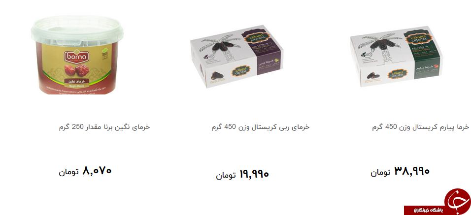 انواع خرما در بازار چند؟ + قیمت