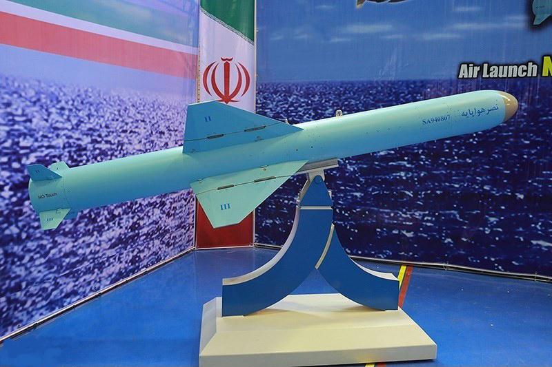 «موشک نصر»، رمز پیروزی سپاه اسلام بر استکبار جهانی + فیلم و تصاویر