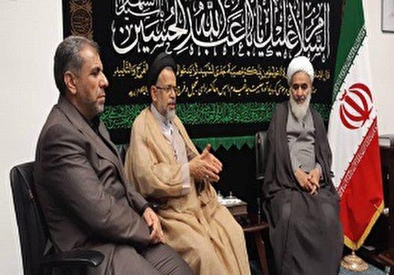 باشگاه خبرنگاران -دیدار وزیر اطلاعات با نماینده ولی فقیه در استان قزوین