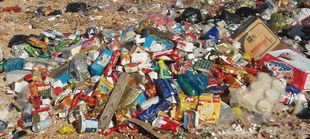 بیشاز۴ تن موادغذایی فاسد در زاهدان معدوم شد