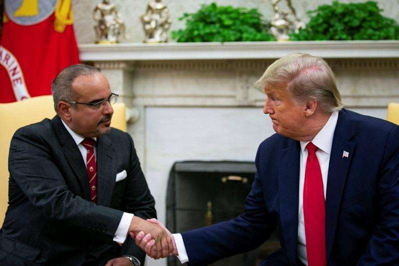 ترامپ: ما روابط قابل توجهی در بخش نظامی با بحرین داریم