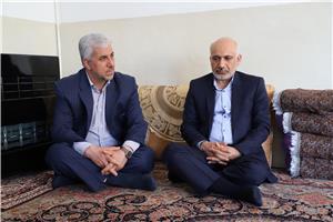 تقدیر مدیرکل کمیته امداد امام از مدیرکل امور مالیاتی استان ایلام