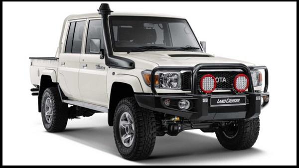 فروش جالب خودروی تویوتا لندکروز Namib در آفریقای جنوبی