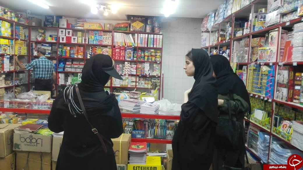 بوی ماه مهر، بوی مهربانی همراه با دغدغههای فراوان/کسادی فروشگاههای نوشت افزار در اوج اشتیاق خرید دانش آموزان