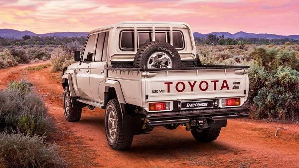 تویوتا لندکروز Namib خودروی محبوب مشتریان در آفریقای جنوبی