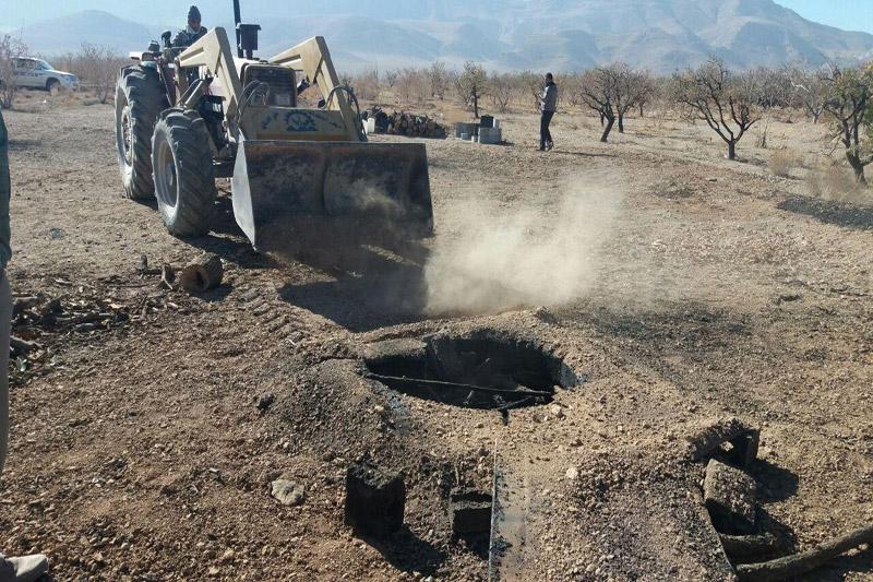 انسداد ۳۰۰ حلقه چاه غیر مجاز در خراسان رضوی/نجات آب باید دغدغه همه افراد جامعه باشد