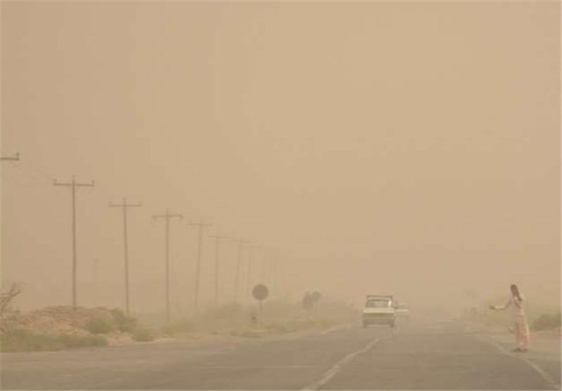 ۱۱۲ کیلومتر بر ساعت سرعت باد در نفسهای آخر بادهای ۱۲۰ روزه