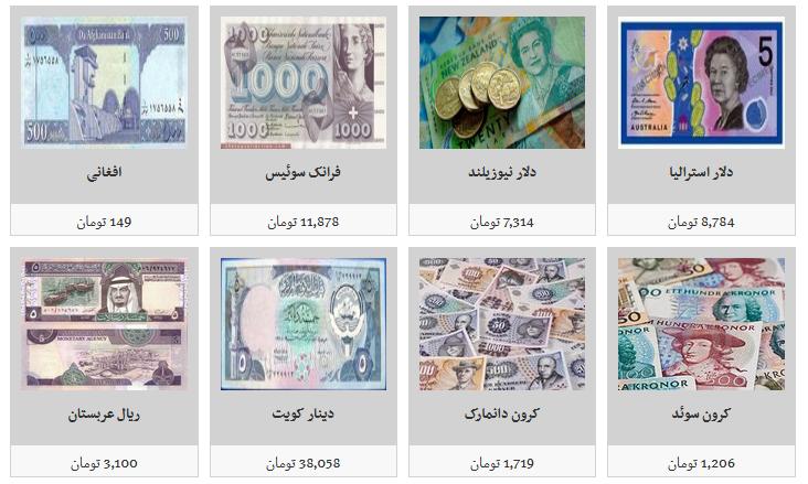 جدیدترین نرخ ارز در صرافیهای مجاز/ دلار ۱۱ هزار و ۳۳۹ تومان
