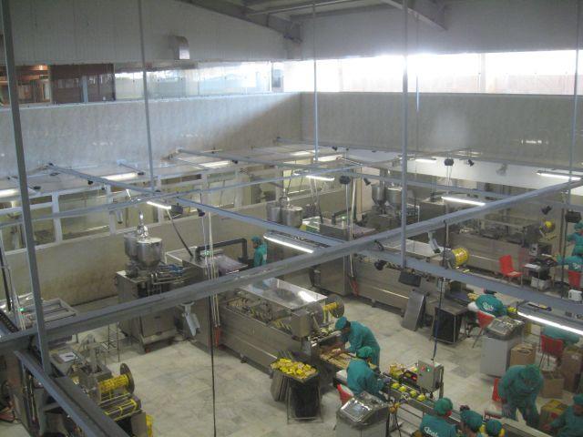 تولید بیش از ظرفیت کارخانه تولید محصولات غذایی در شازند