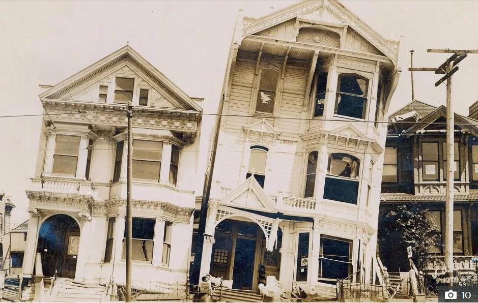 تصاویر سیاه و سفید دیده نشده از زلزله سال ۱۹۰۶ آمریکا//////////چهارشنبه صبح
