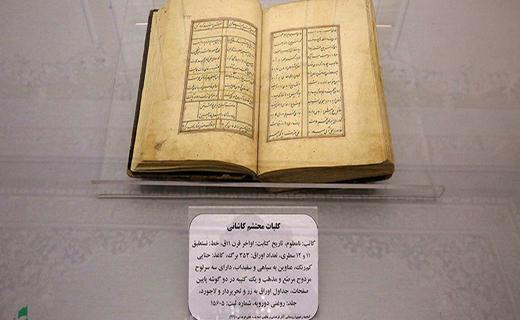 قدیمیترین نسخههای خطی کلیات محتشم کاشانی» در سهشنبههای فرهنگی رونمایی شد