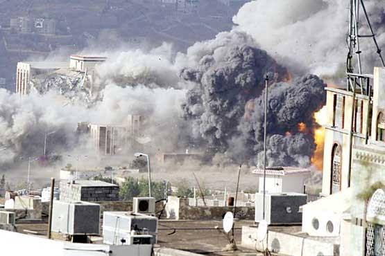 حمله موشکی متجاوزان به بیت الفقیه و الظاهر یمن
