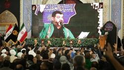 تصاویر دیدنی از حضور خادمان اربعین حسینی در مشهدالرضا(ع) +فیلم