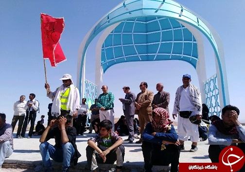 حرکت کاروان زیارتی امامزاده علی شهرستان بشرویه+تصویر