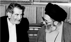 شعرخوانی شهریار ایران در حضور رهبر انقلاب +فیلم