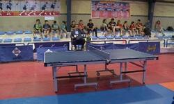 برگزاری تنیس روی میز منطقه ۴ کشور در سنندج