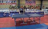 باشگاه خبرنگاران -برگزاری  رقابتهای تنیس روی میز منطقه ۴ کشور در سنندج