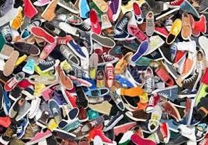 کشف ۲ هزار و ۵۶۸ جفت کفش خارجی قاچاق در همدان