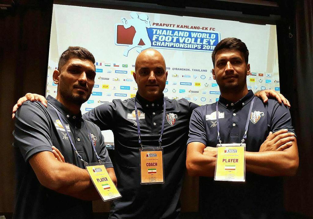 تمرین تیم ملی فوتوالی زیر نظر مربی گیلانی