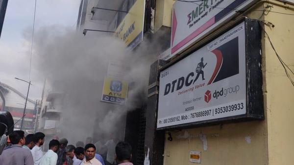 آتشسوزی گسترده در جنوب هند