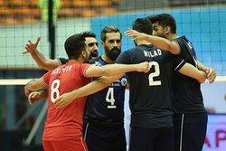 تیم ملی والیبال ایران ۳ - هند صفر/ هندیها هم حریف بلند قامتان نشدند + تصاویر