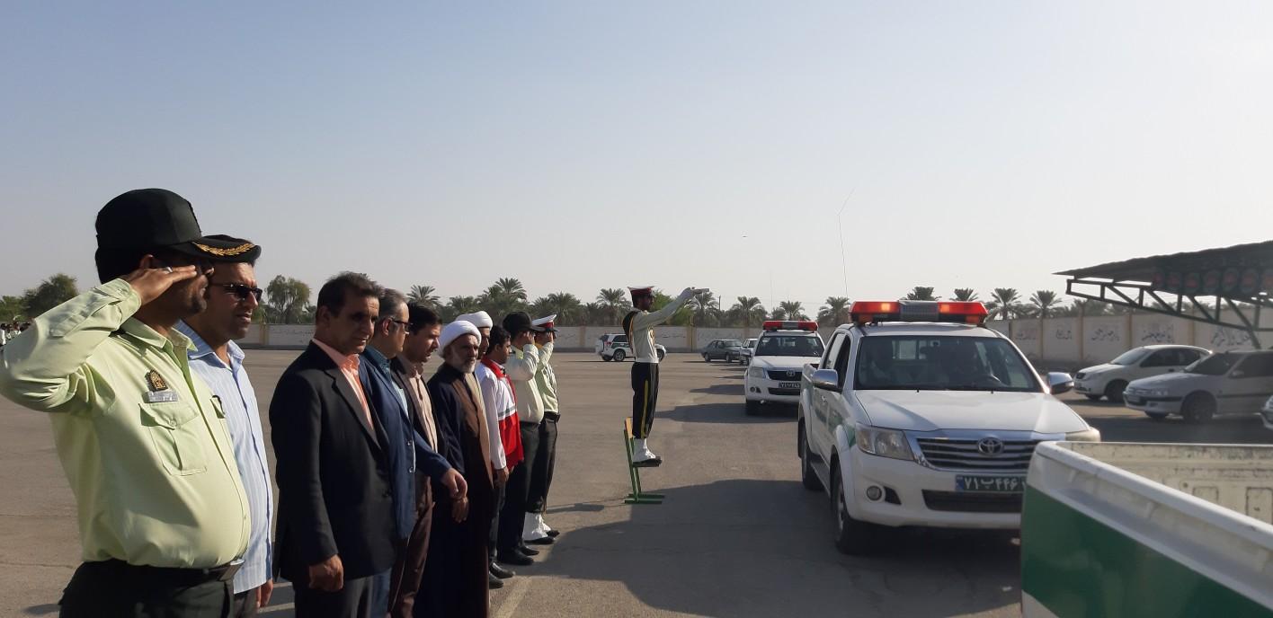 پلیس منوجان برای بازگشایی مدارس آماده است