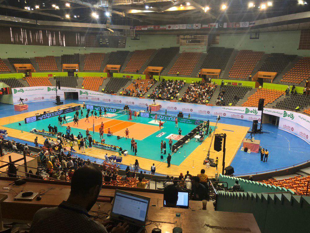 تیم ملی والیبال ایران ۳ - هند صفر/ هندیها هم حریف بلند قامتان نشدند