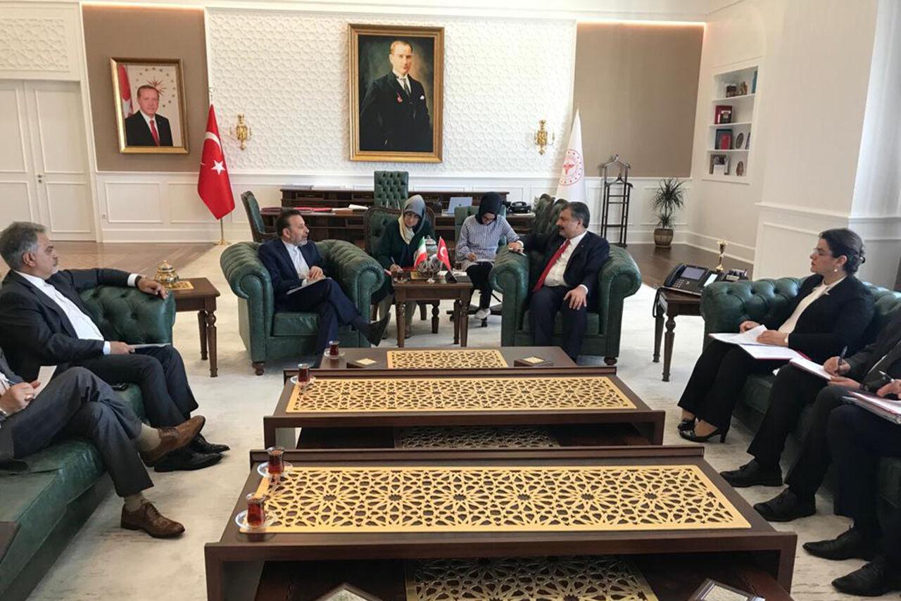 امکان همکاری ایران و ترکیه در تمام حوزه های پزشکی