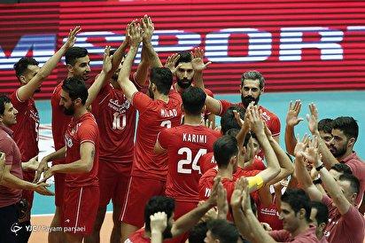 والیبال قهرمانی آسیا/ ایران ۳ - هند ۰