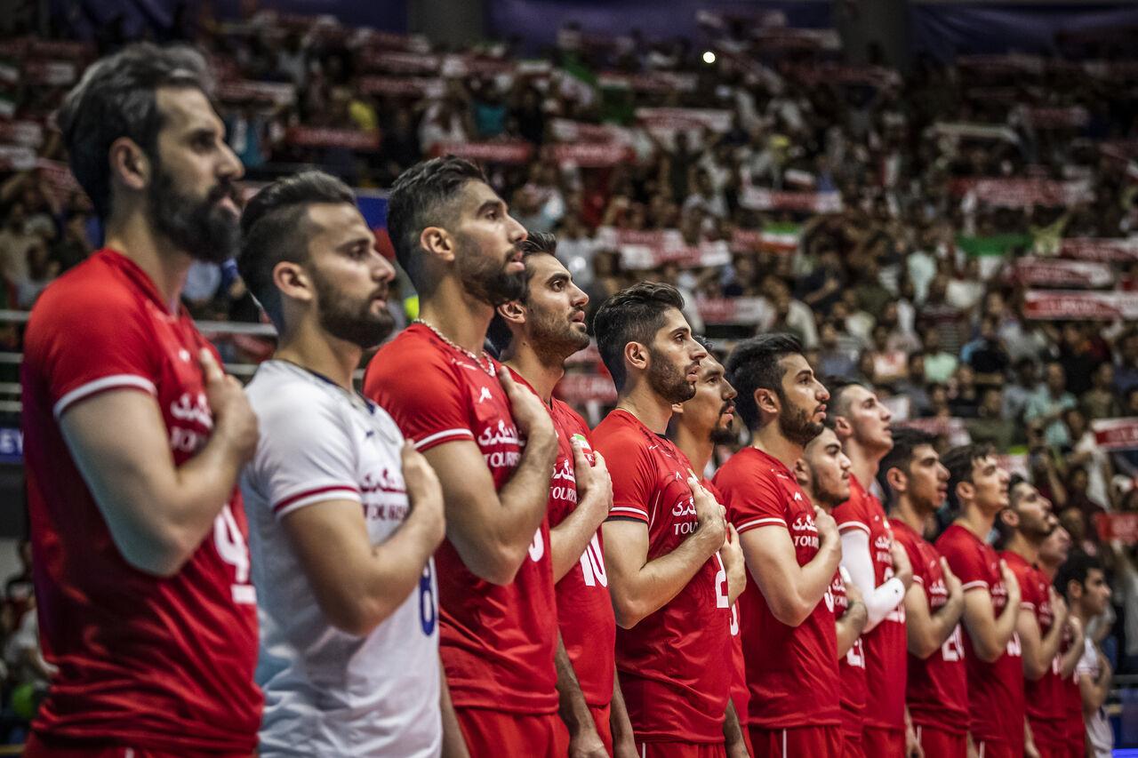 تیم ملی والیبال ایران - چین تایپه/ ست نخست