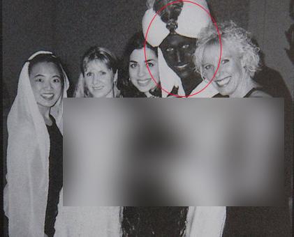 انتشار عکس جنجال برانگیز جاستین ترودو در مهمانی «هزار و یک شب» +عکس
