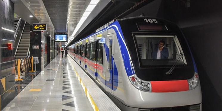 ایستگاههای مترو شاهد-باقرشهر و خط فرودگاه امام خمینی(ره) پذیرش مسافر ندارند