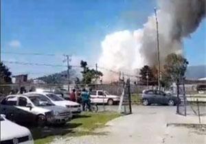 انفجار کارخانه مواد شیمیایی در ترکیه