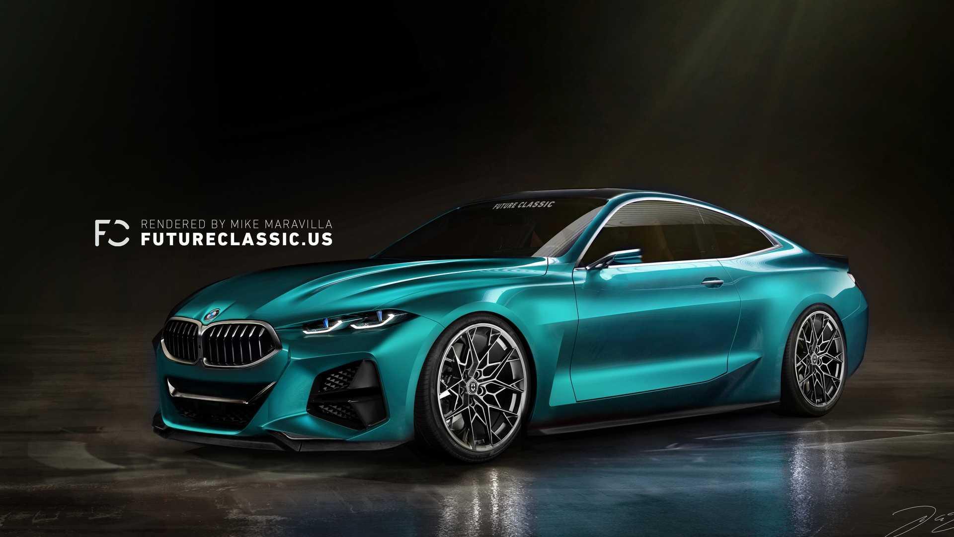 تجلی هنر طراحی بیامو در کانسپت خودروی BMW 4 +تصاویر