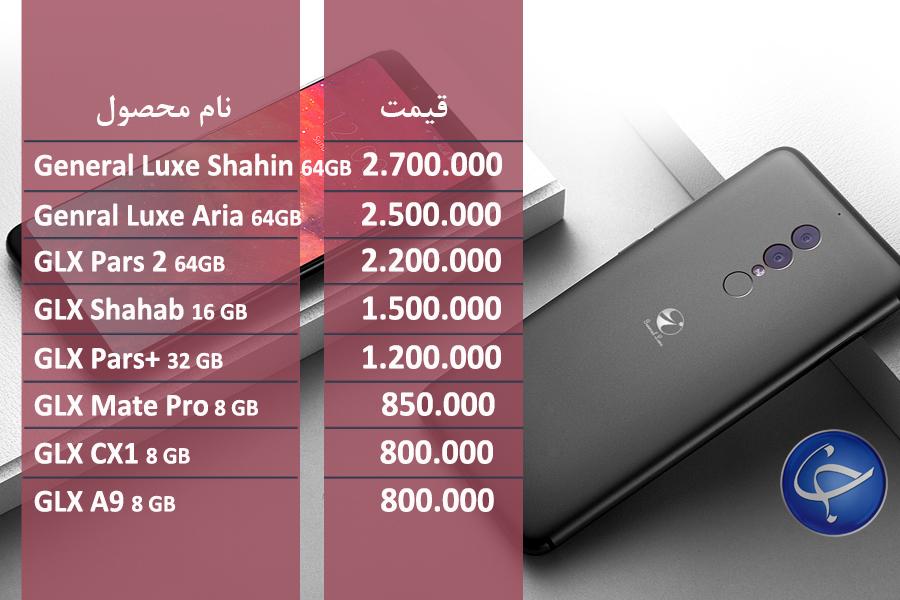 آخرین قیمت تلفن همراه در بازار (بروزرسانی 30 شهریور) + جدول