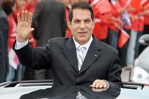 دیکتاتور مخلوع تونس مرد