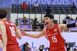 حریف ایران در نیمه نهایی قهرمانی والیبال آسیا مشخص شد
