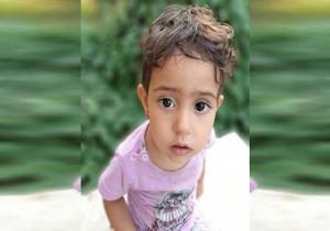 آخرین تصاویر ثبت شده از زهرا دو ساله گمشده در خیابان